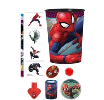 Spider-Man Super Favor Kit for 8 Guests