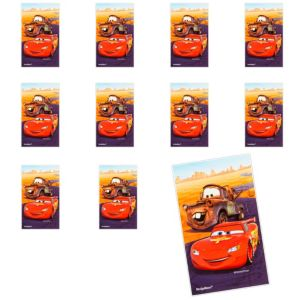 Jumbo Cars Stickers 24ct