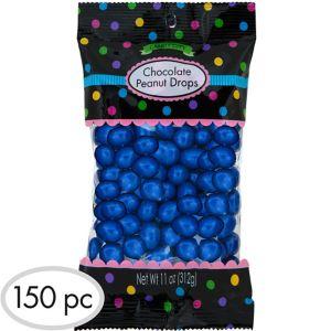 Royal Blue Peanut Chocolate Drops 150pc