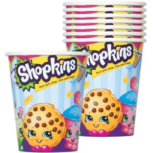 Shopkins Cups 8ct