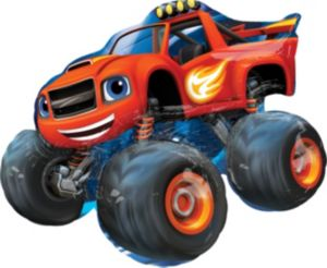 Blaze and the Monster Machines Balloon - Giant