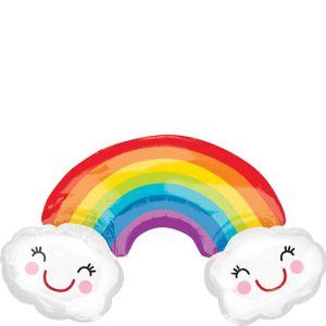 Rainbow Balloon - Giant