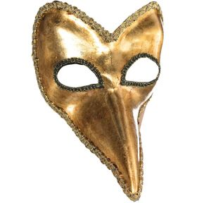 Gold Long Nose Mask