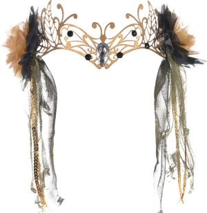 Gold Fairy Headpiece