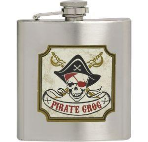 Pirate Grog Flask