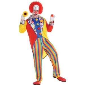 Adult Clown Suit Costume