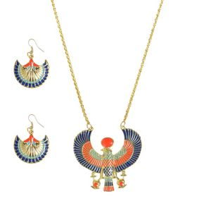 Egyptian Jewelry Set 3pc