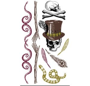 Witch Doctor Tattoos 12ct