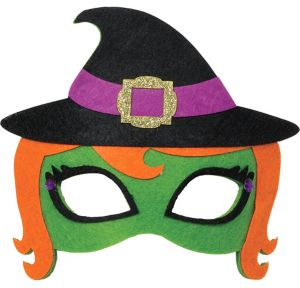 Child Witch Mask