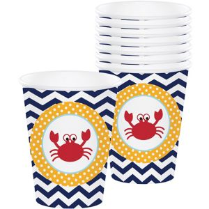Ahoy Nautical Cups 8ct