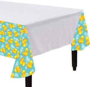Bubble Bath Baby Shower Table Cover
