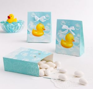 Bubble Bath Favor Boxes 12ct