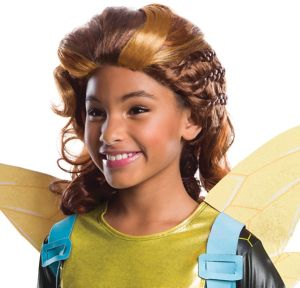 Child Bumblebee Wig - DC Super Hero Girls