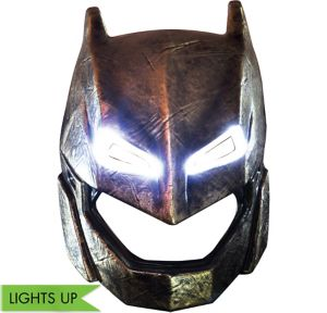 Child Light-Up Armored Batman Mask - Batman v Superman: Dawn of Justice