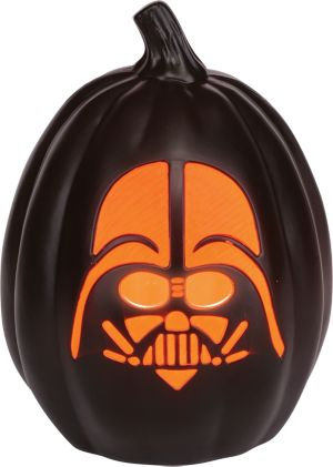 Light-Up Darth Vader Pumpkin