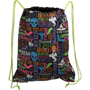 Drawstring Trick-or-Treat Bag