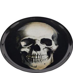Boneyard Skull Plastic Platter