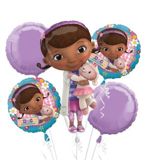 Doc McStuffins Balloon Bouquet 5pc - Giant