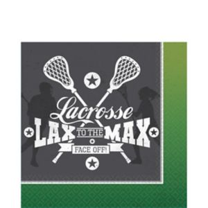 Lacrosse Lunch Napkins 16ct