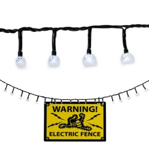 Electric Fence String Lights