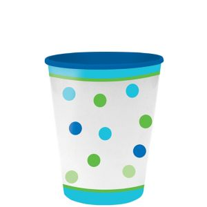 Blue Dots & Stripes Favor Cup