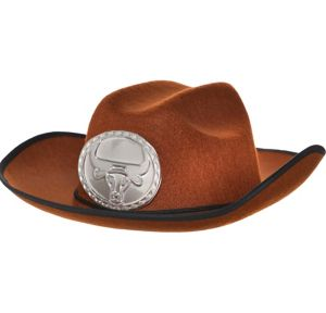 Child Brown Cowboy Hat
