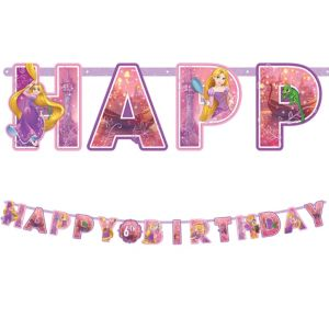 Rapunzel Birthday Banner Kit