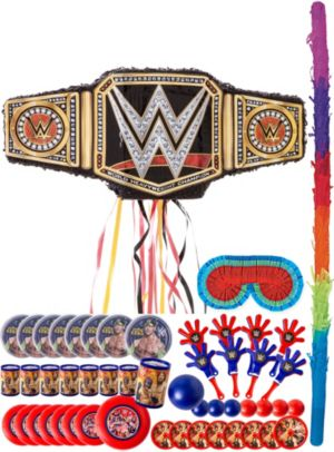 WWE Championship Title Belt Pinata Kit with Favors