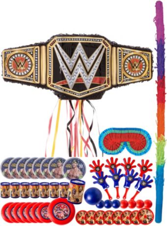 WWE Championship Title Belt Pinata Kit with Favors