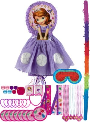Sofia the First Pinata Kit with Favors Deluxe