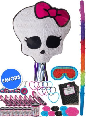 Skullette Pinata Kit with Favors - Monster High