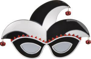 White & Black Jester Sunglasses