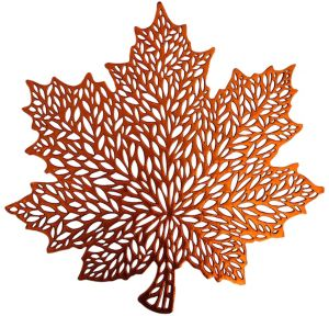 Harvest Leaf Vinyl Placemat