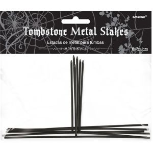 Tombstone Metal Stakes 6ct