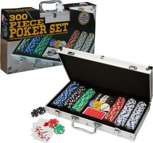 Poker Set with Case 300pc