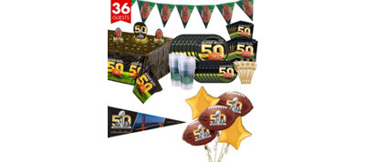 Super Bowl 50 Ultimate Party Kit