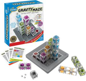 Gravity Maze Falling Marble Logic Game