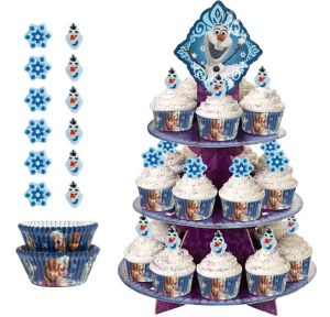 Deluxe Frozen Cupcake Kit for 24