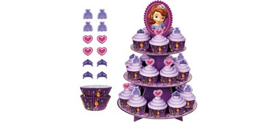 Sofia the First Cupcake Kit for 24