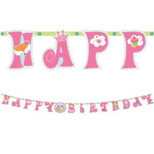 Woodland Fairy Birthday Banner Kit