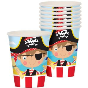 Little Pirate Cups 8ct