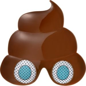 Poop Icon Glasses