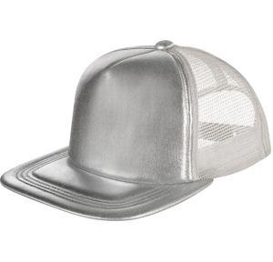 Silver Baseball Hat