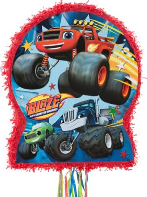 Pull String Blaze and the Monster Machines Pinata