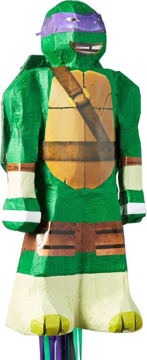 Pull String Donatello Pinata - Teenage Mutant Ninja Turtles