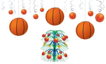 Basketball Décor Kit