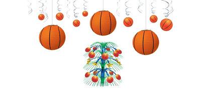 Basketball Décor Kit