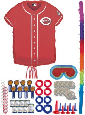 Cincinnati Reds Pinata Kit with Favors