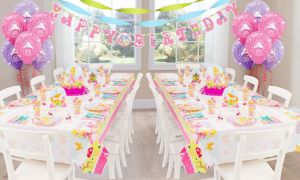 Woodland Princess Deluxe Party Kit for 16 Guests