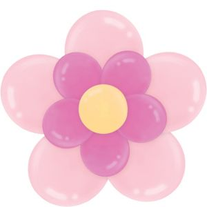 Pink Balloon Flower Kit